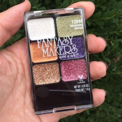 Wet N Wild Fantasy Makers Halloween Glitter Palette Review