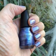 sinfulcolors ice blue nail polish