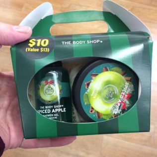 The Body Shop Stocking Stuffer Gift Sets (Spiced Apple & Merry Kis-Mas Wand)