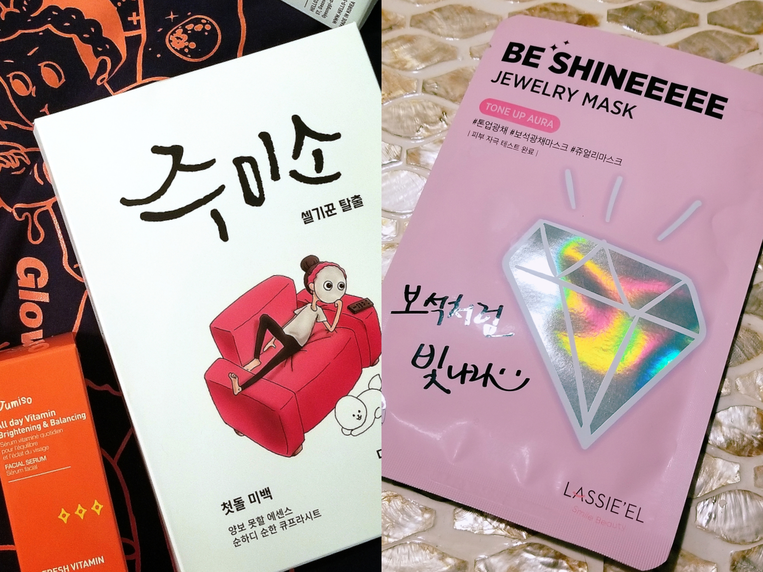 april sheet mask review jumiso lassie'el