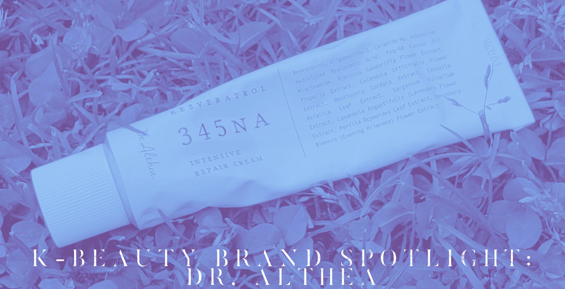 k-beauty brand spotlight dr. althea banner
