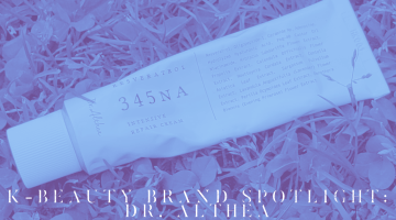k-beauty brand spotlight dr. althea banner
