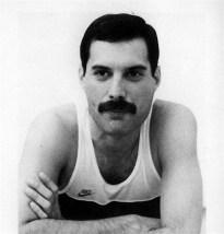 Freddie In Musicland Studio 1985