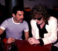 Freddie and Ian Hunter