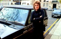 Roger Taylor with car