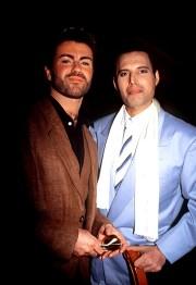 Freddie with George Michael 1990