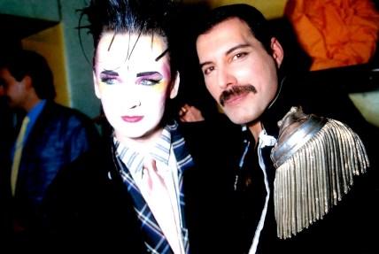 Freddie and Boy George