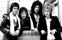 Queen - photo by Chris Hopper in 1978