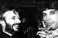 Freddie and Ringo Starr