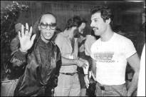 Freddie with Donna Summer