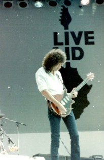 Brian Live Aid 1985