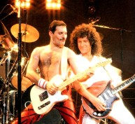 Freddie and Brian - Crazy Little Thing Called Love live in Japan 1985
