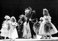 Freddie in Fashion Aid 1985