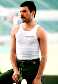 Freddie in Mexico 1981