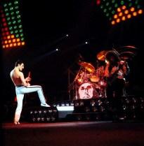 Hot Space tour - live 1982