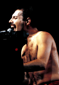 Freddie live - The Works Tour