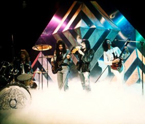 'Killer Queen' on BBC1's 'Top Of The Pops' TV show in December 1974 (1)