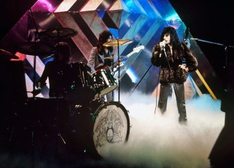 'Killer Queen' on BBC1's 'Top Of The Pops' TV show in December 1974