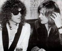 Roger and Ian Hunter in New York 1976
