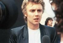 Roger - before gig in Milton Keynes 1982