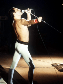 The Works Tour - Freddie - live in middle 80's