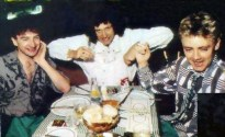 Brian, John and Roger in 1982