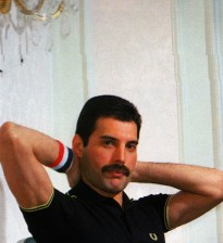 Freddie in Japan on 5th October 1982. Photo by Koh Hasebe