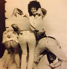 Queen - Live Aid Photo session