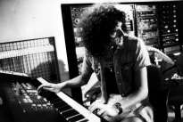 Brian - A Kind Of Magic album recording session