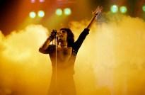 Freddie live in 1975