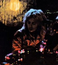Roger live on stage in 1977
