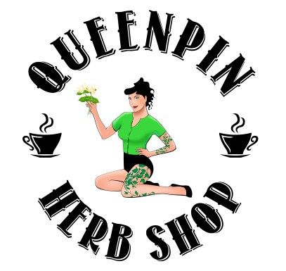 queenpin-herb-shop-logo
