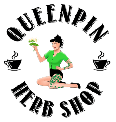 Queenpin Herb Shop logo