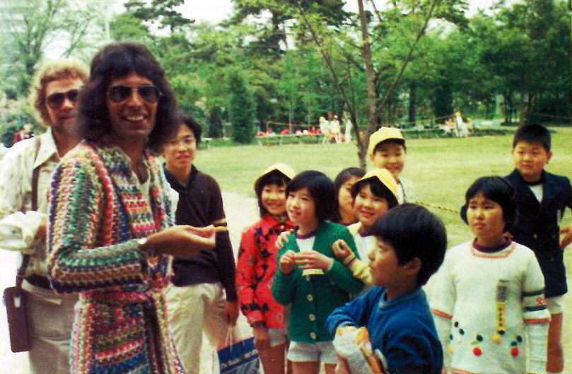 Freddie Mercury In Japan 1975 Queen Poland