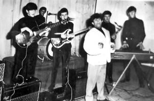 "The Reaction z Rogerem ""Sandy"" Brokenshawem; Rock and Rythm Championship, Truro, 15 marca 1966 r."