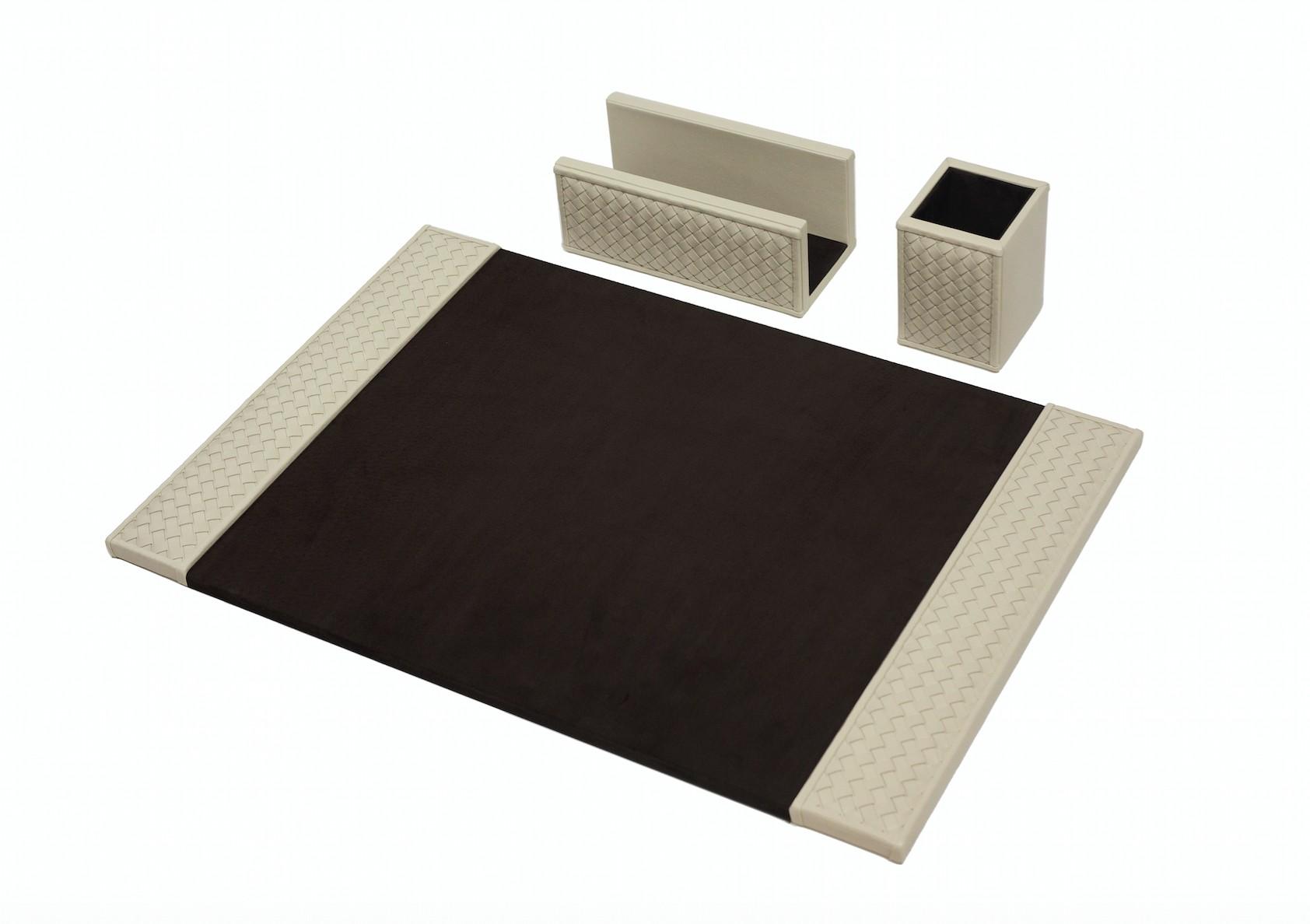 Portofino desk pad white