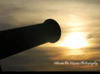 Cannon and Sunset
