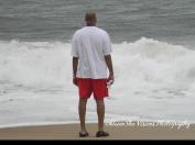 Single Man on Beach