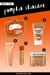Pumpkin Infused Beauty Products to Spice Up Your Skincare Routine