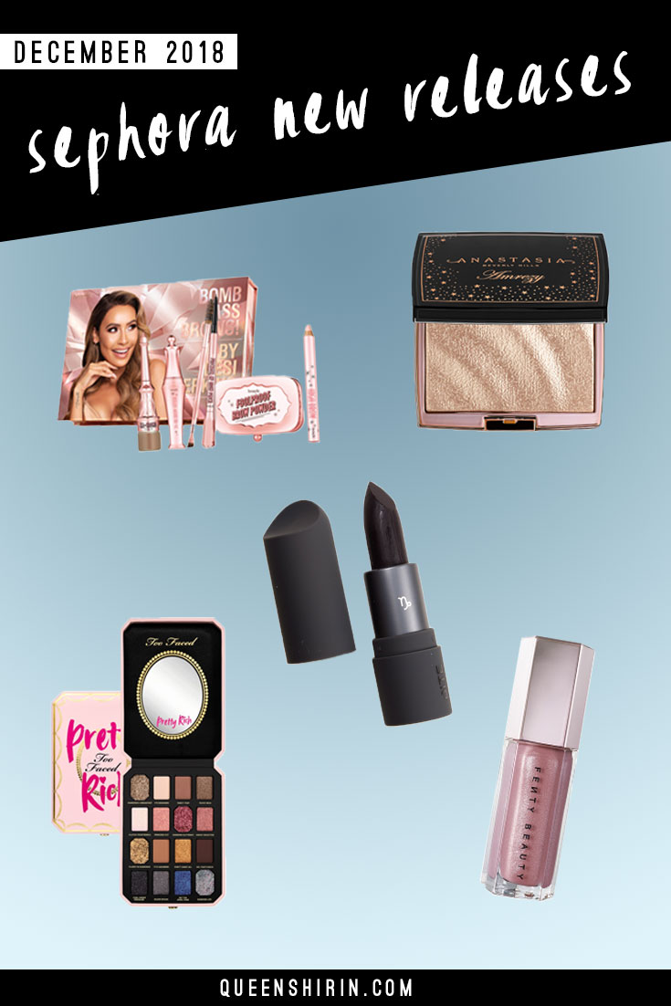 December 2018: New Sephora Beauty Product Releases