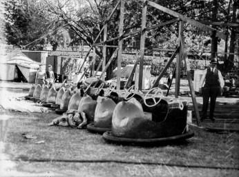 Dodgem cars at the RNA showground Brisbane 1938