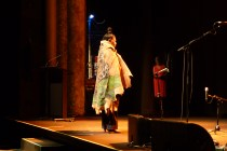 Songwoman Maroochy Barambah welcomes Caxton's guests to Country