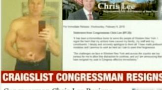 La imagen que puso el congresista Lee para atraer mujeres por intermedio de Craigslist.