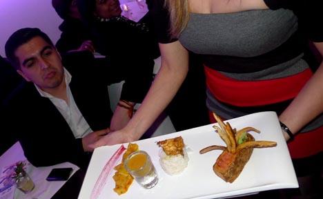 Uno de los platos típicos de la cocina ecuatoriana que se sirve en el restaurante Sabor Latino.