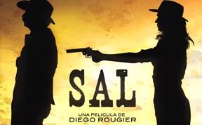 El poster de la película Sal, filmada en el desierto de Chile.