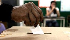 El proceso de votación en El Salvador.