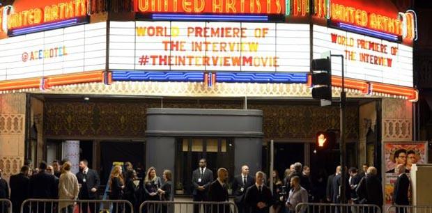 SONY dijo que presentará la película a pesar de las amenazas del gobierno de Corea del Norte.