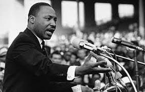 Martin Luther King, líder de los derechos civiles en Estados Unidos que fue asesinado.