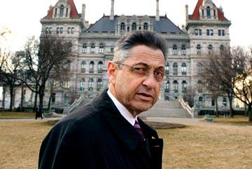 Asambleísta demócrata del estado de Nueva York, Sheldon Silver.
