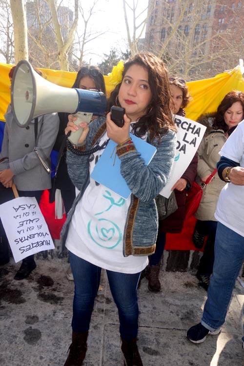 Melissa García Vélez, soñadora en acción. Foto Javier Castaño